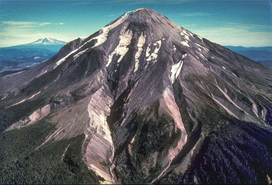 a paper on volcanoes and mount saint helens