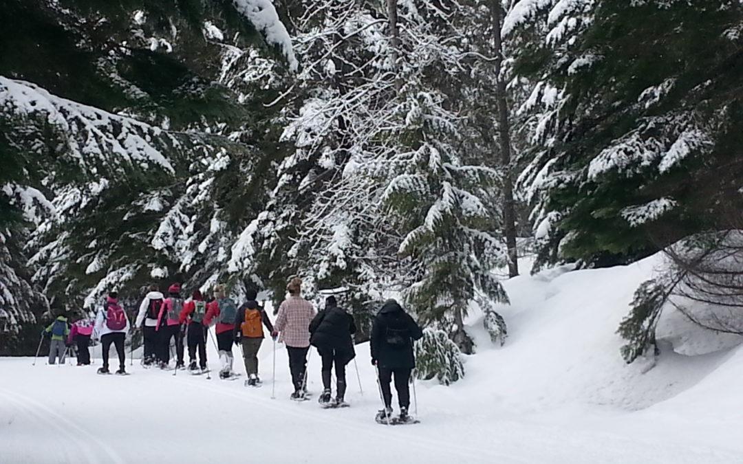 Annual Snowshoe Trip