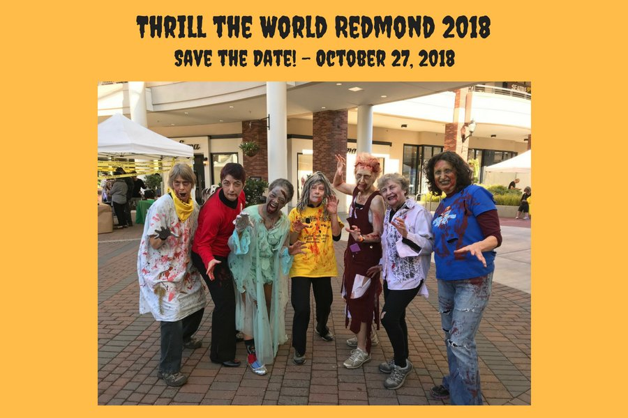 It's Not Too Early to Think About Thrill the World!