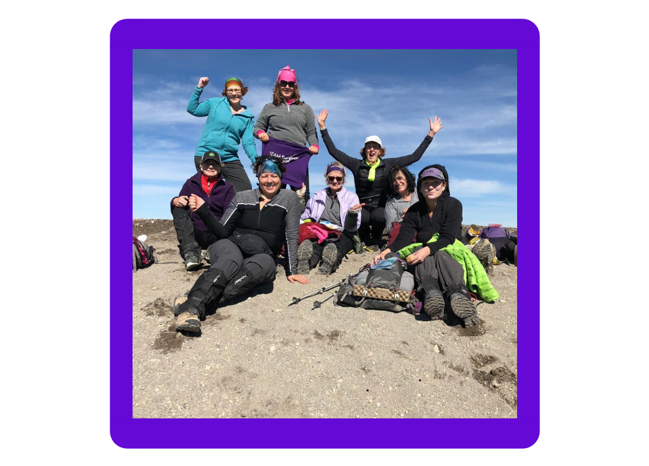 TSNW Fundraising Mountain Climb Team Summits Mt St Helens!