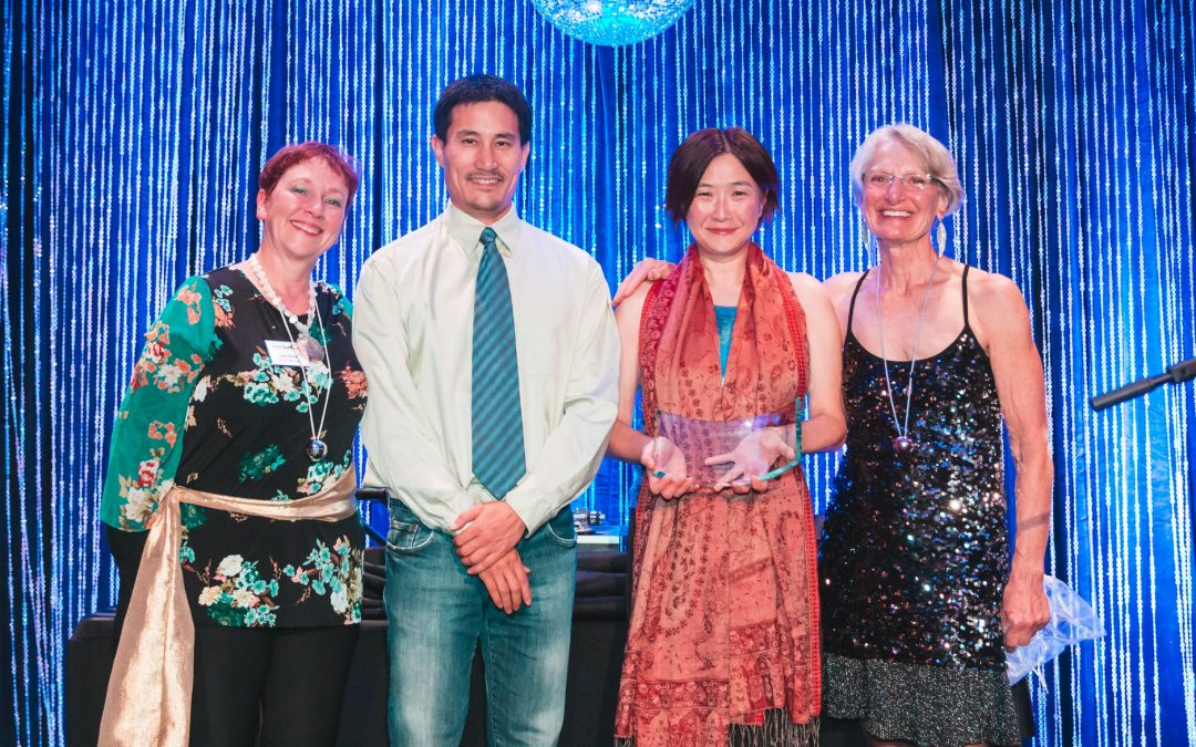 Charlene Wee and Albert Ting Receive The Gralow Award